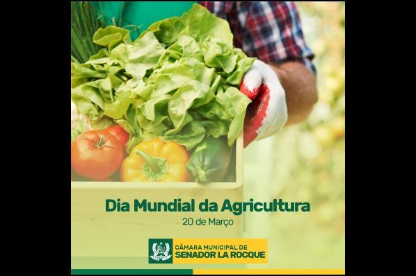 Homenagem ao Dia Mundial da Agricultura